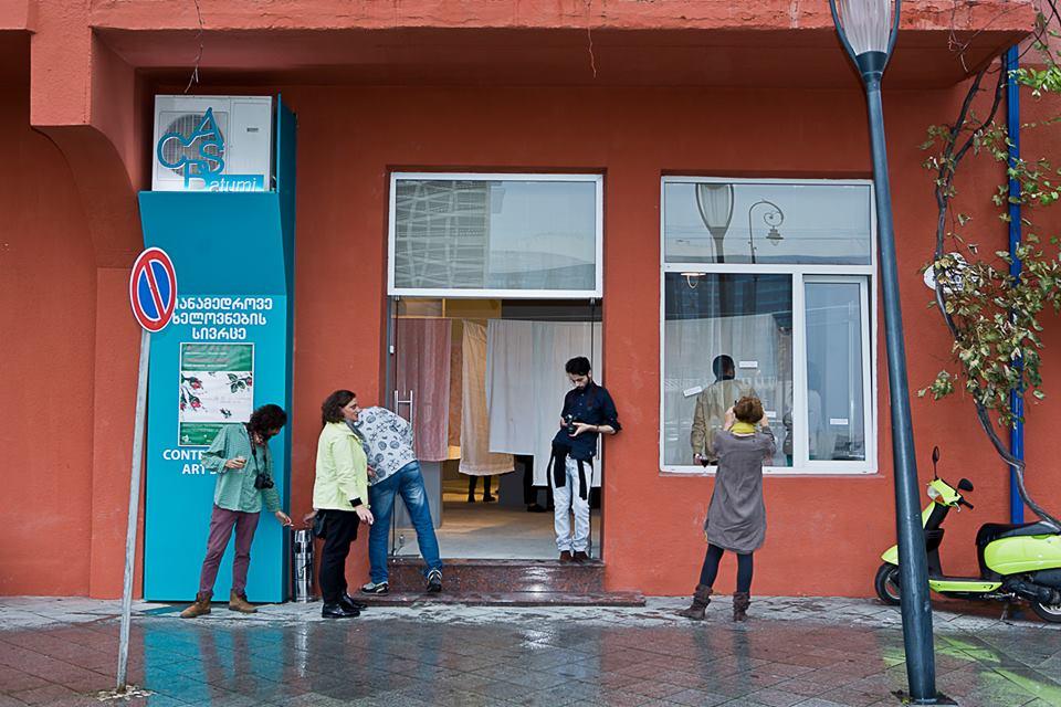 ბათუმის თანამედროვე ხელოვნების სივრცე. ფოტო: Contemporary Art Space, Batumi