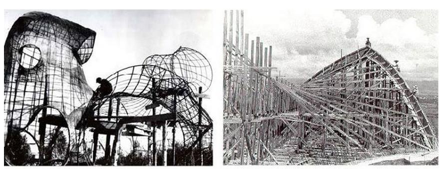 ჩახავას პავილიონის მშენებლობა, აფხაზეთი და ფელიქს კანდელასჰიპერბოლური მშენებლობა, მექსიკა