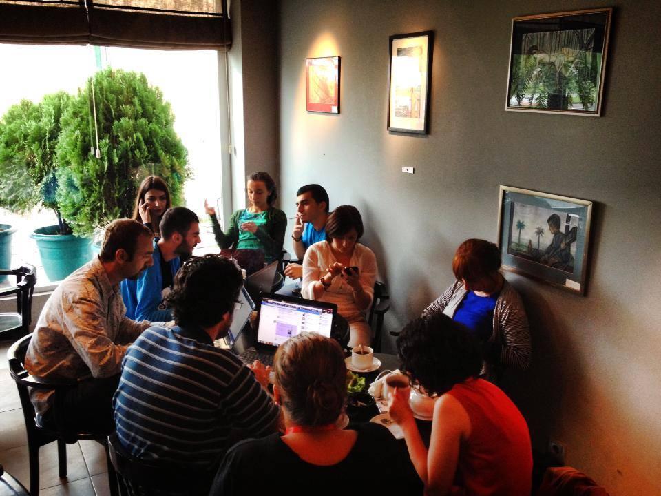 ბათუმის საერთასორისო კონოფესტივალის ორგანიზატორები და ბლოგერები