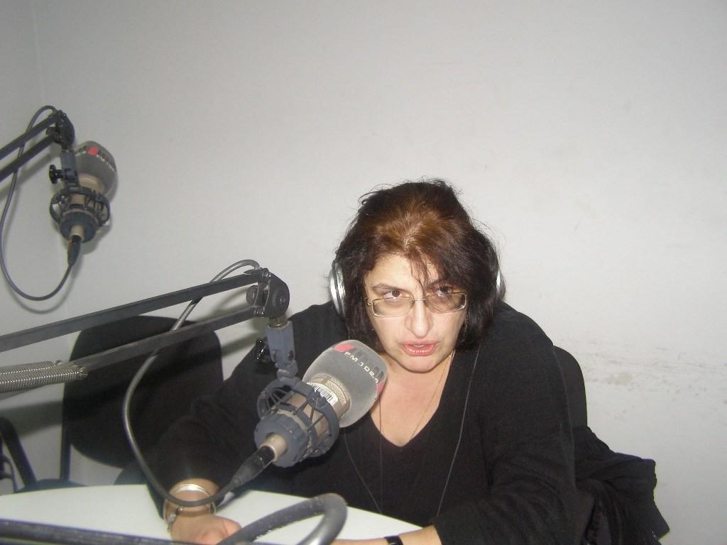 ნინო ჩხობაძე. ფოტო: radio1.ge