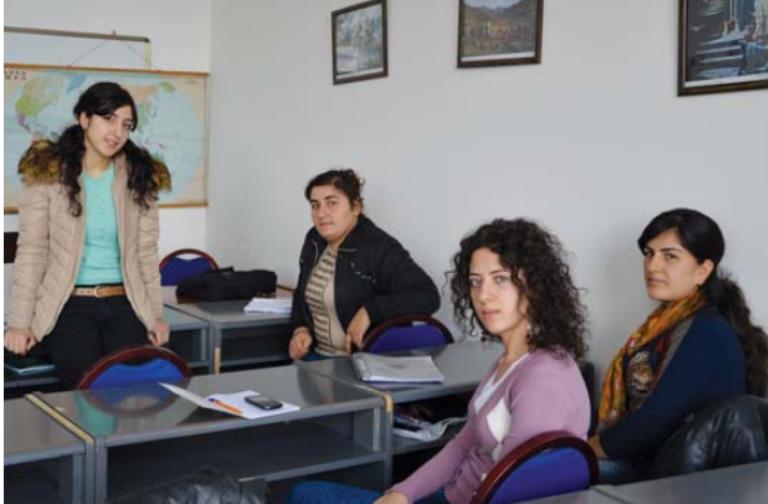 განათლების ფაკულტეტის სტუდენტები ბათუმის რუსთაველის უნივერსიტეტიდან