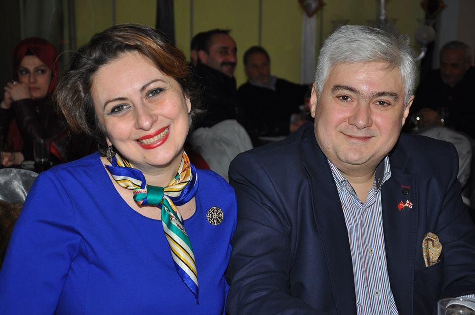 ირინე გივიაშვილი მეუღლესთან, ირაკლი კოპლატაძესთან ერთად