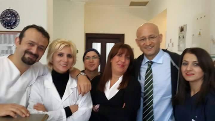 მანანა ნაგერვაძე (მარცხნიდან მეორე) კოლეგებთან ერთად