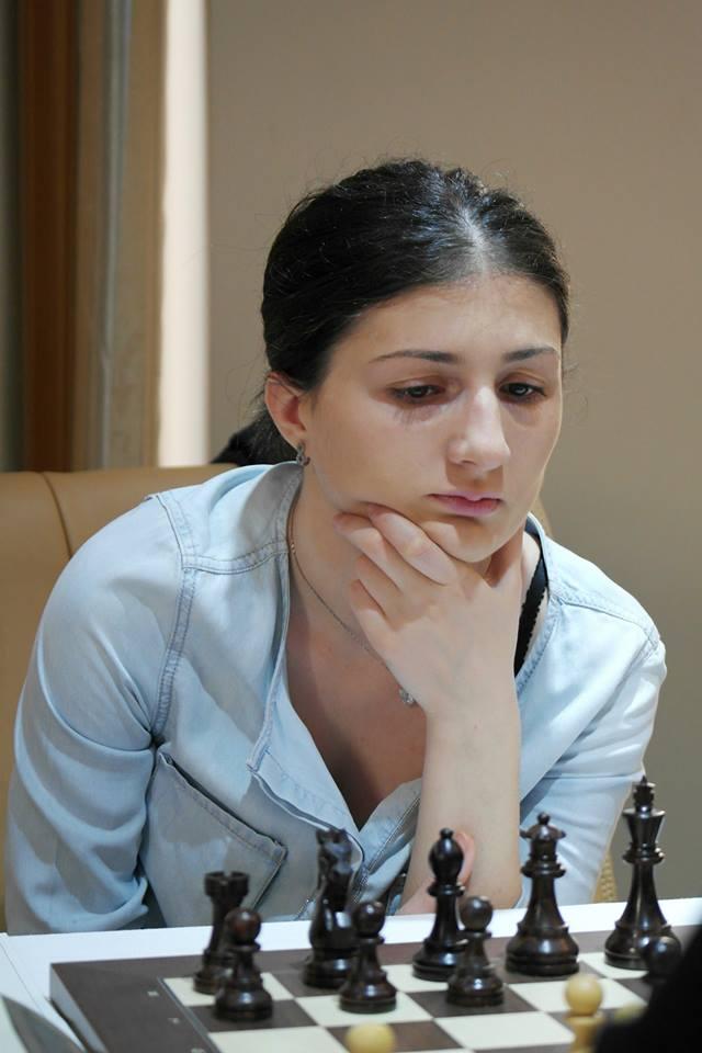 ნინო ბაციაშვილი | ქალთა ევროპის ჩემპიონატი ჭადრაკში, მეშვიდე ტური | ჩაქვი, 25 მაისი 2015