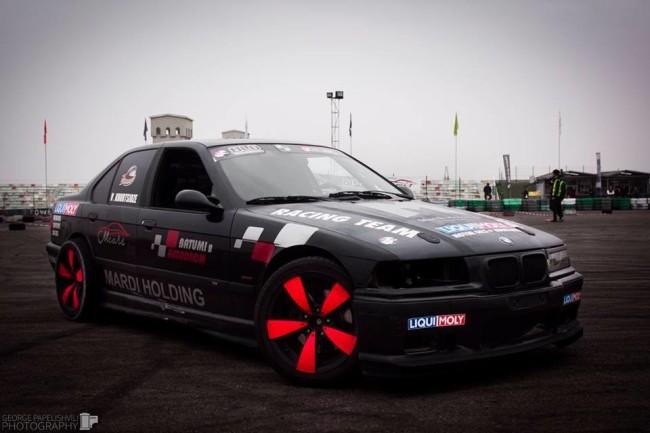 ვახო ხურციძის ავტომობილი BMW E36
