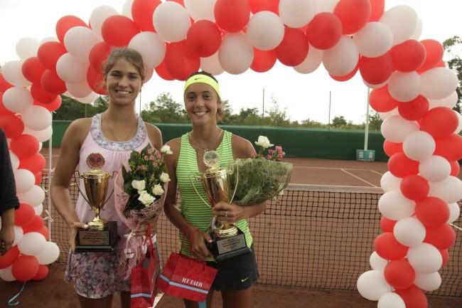 საერთაშორისო ტურნირის Ladies Open -დაჯილდოვებაზე