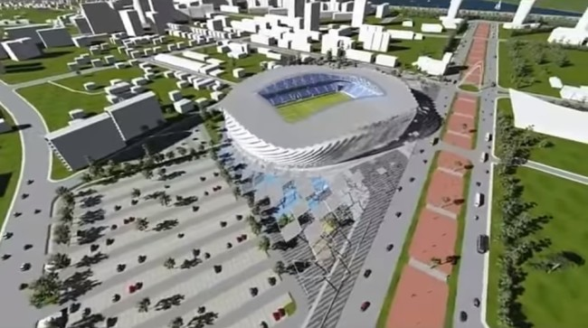 """ბათუმში საფეხბურთო სტადიონი თურქული კომპანია """"BAHADIR KUL ARCHITECTS"""" პროექტით აშენდება"""