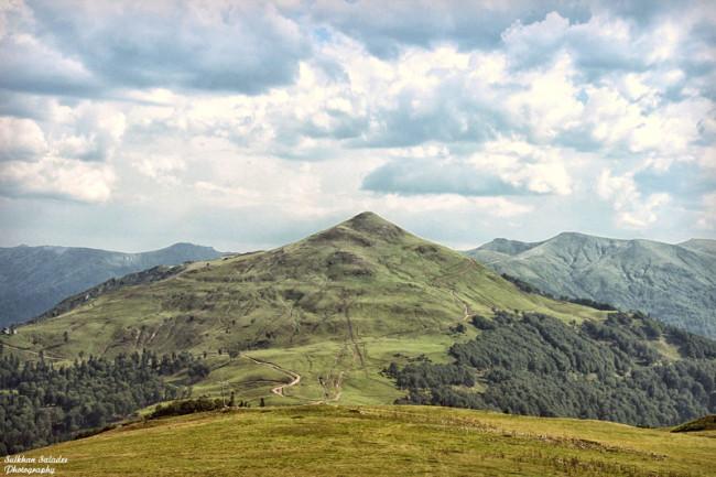 ღომას მთა. სულხან სალაძის ფოტო