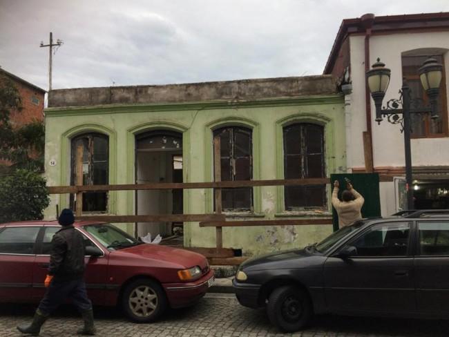 სახლი, რომელიც დაანგრიეს, მაზნიაშვილის #14. ცაგო კახაბერიძის ფოტო