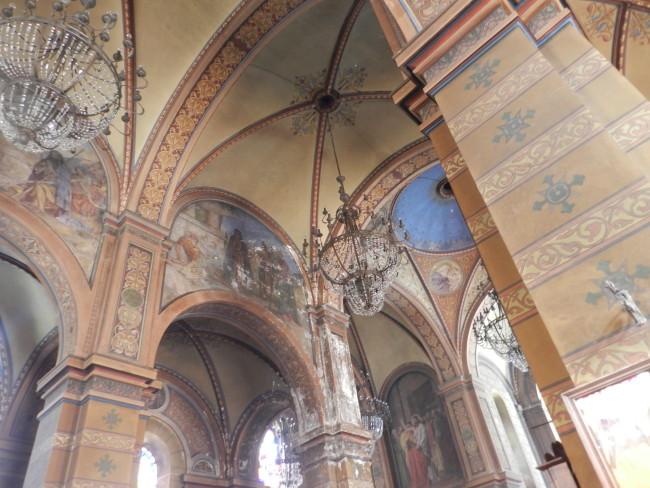 მე-20 საუკუნის დასაწყიში აშენებულ ტაძარს როგორც არქიტექტურული, ასევე მხავრული ღირებულებაც გააჩნია.