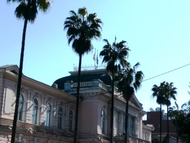 ბათუმის მუნიციპალიტეტის შენობა / 25.02.2017