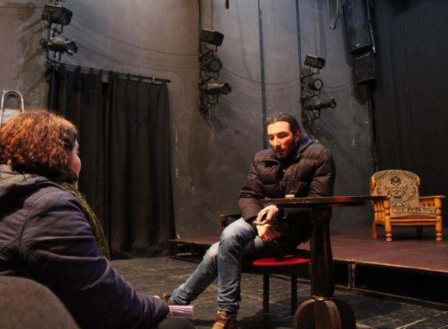 დავით ჯაყელი, ბათუმის დრამატული თეატრის მსახიობი: ფოტო: თორნიკე თავაძე