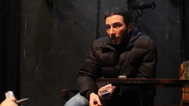 დათო ჯაყელი, მსახიობი ფოტო: თორნიკე თავაძე