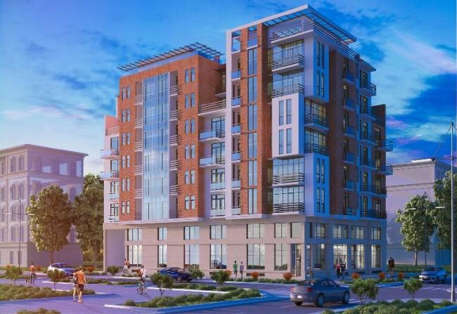 შენობის პროექტი, რომლის აგებასაც კომპანია ბარათაშილის 24-ში გეგმავს