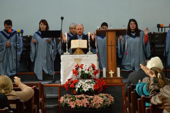 საერთო წირვა ბათუმის წმინდა სამების სახელობის პროტესტანტული ეკლესიაში