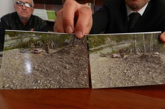 სოფლის მცხოვრებლების თქმით, მაღალი ძაბვის ელექტროგადამცემი ხაზების გაყვანის დროს მათი მიწის ნაკვეთები დაზიანდა