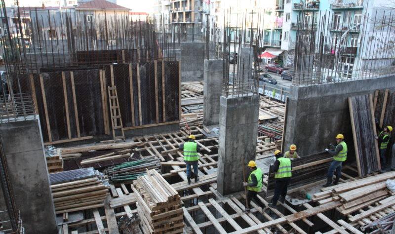მშენებლობა აქტიურ ფასაშია პრექტის ყველა ბლოკზე