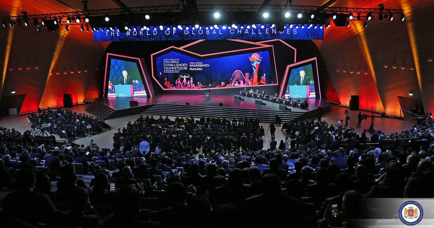 ზურაბ პატარაძემ, ასტანაში გამართულ ეკონომიკურ ფორუმში Global challenges summit 2018 მიიღო მონაწილეობა