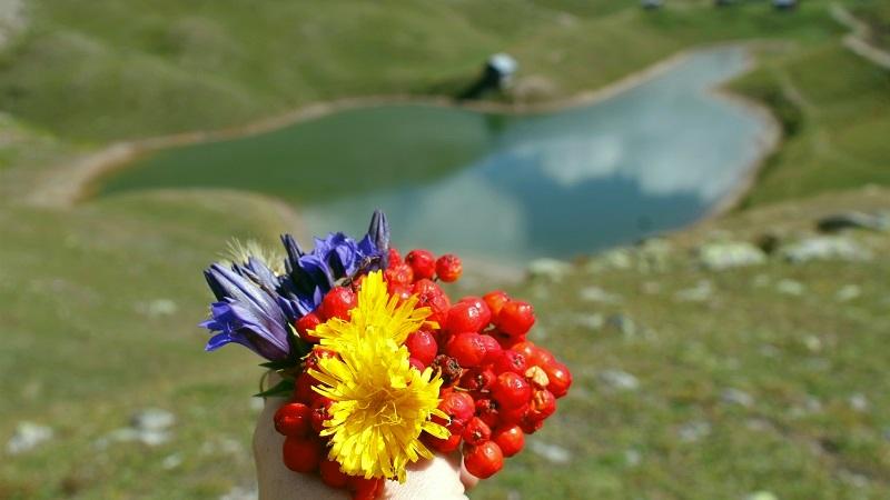 Осень на мистических озерах Шуамта в Аджарии