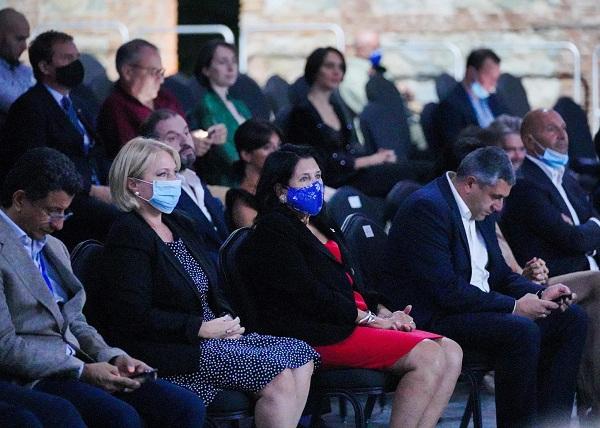 გაეროს მსოფლიო ტურიზმის ორგანიზაციის დელეგაცია წინანდლის ფესტივალის გახსნას დაესწრო