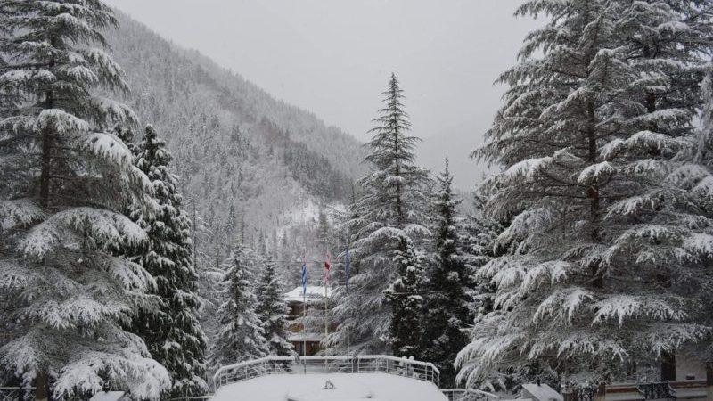 ხულოს სოფლებში თოვლის საფარი 60 სანტიმეტრს აღწევს