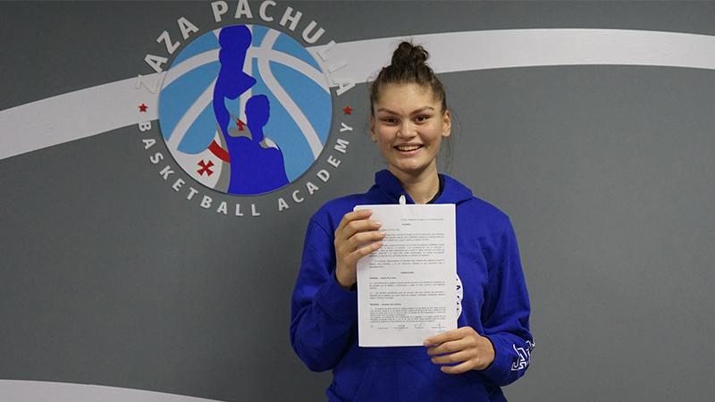 16 წლის კალათბურთელი გოგო ქობულეთიდან ესპანურ კლუბში ითამაშებს