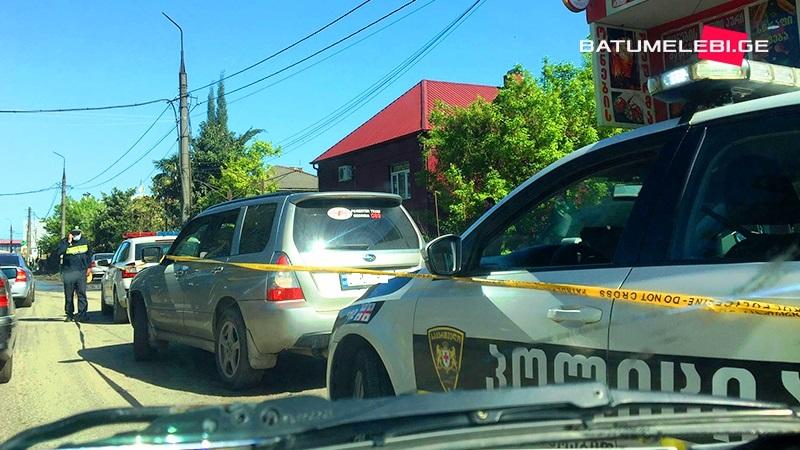 ავტოსაგზაო შემთხვევები ბათუმსა და ქობულეთში – დაშავდა 1 პირი