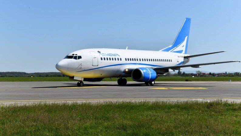 Авиакомпания Armenia будет осуществлять чартерные рейсы между Батуми и Ереваном