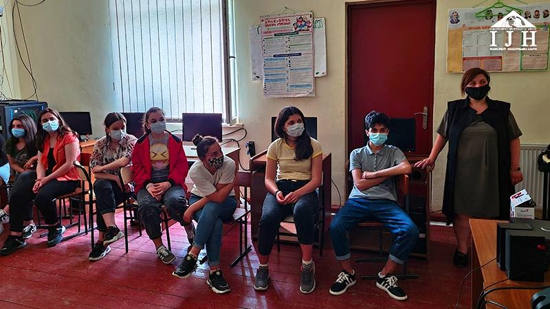 შშმ პირების მიმართ დისკრიმინაცია და გამოწვევები – დისკუსია მახოს საჯარო სკოლაში