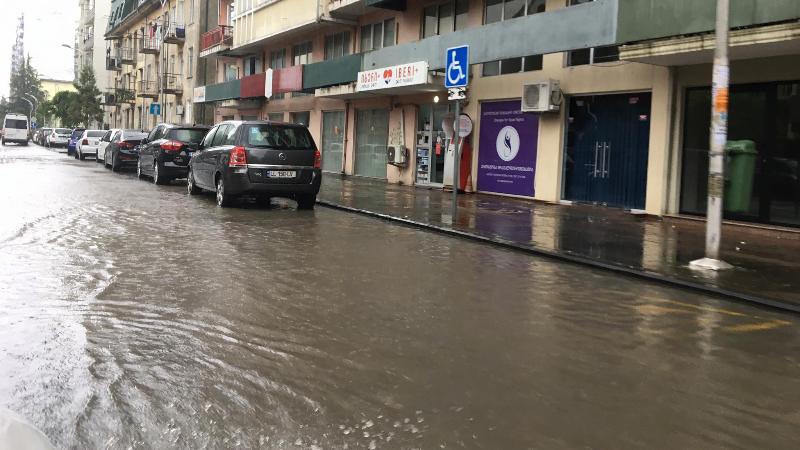 Сильный дождь в Батуми — фоторепортаж