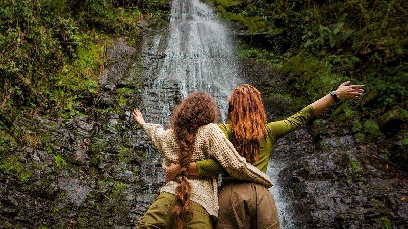 Капнистави — «Деревня семи водопадов» в Аджарии