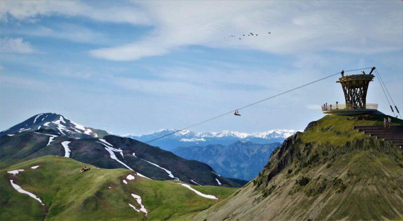 В Аджарии будет построен самый длинный двухполосный зиплайн в Европе