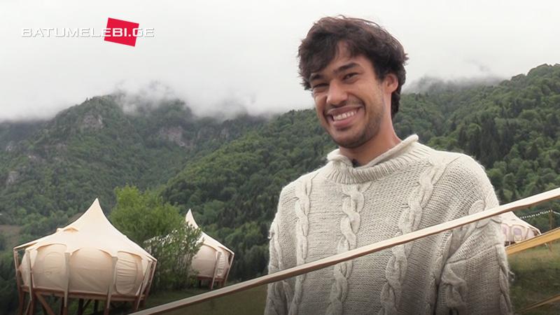 Интервью с бельгийцем открывшем глэмпинг-отельв высокогорном селе Таго в Аджарии