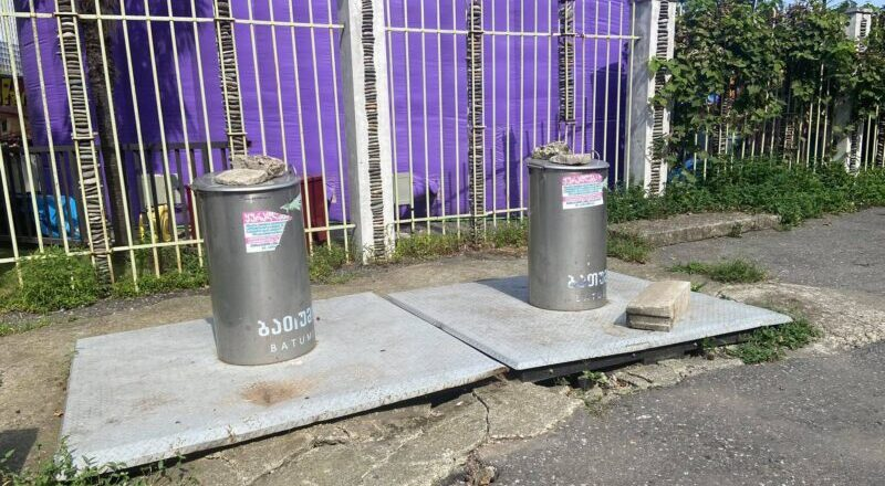 Кандидат от ЕНД: «Почему в Батуми не работают подземные контейнеры для мусора?»