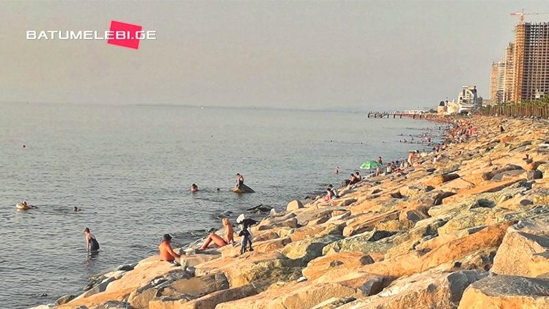 Места на побережье Аджарии, где запрещено купание