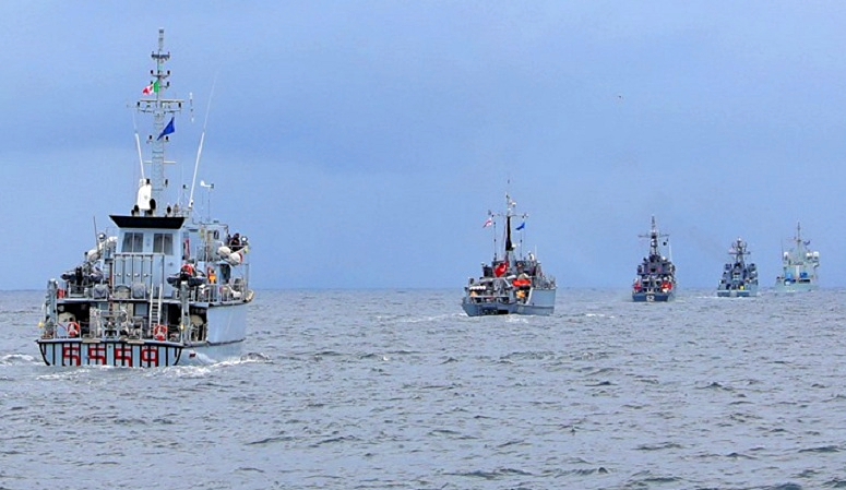 Военно-морские учения НАТО-Грузия в Черном море [Фото]