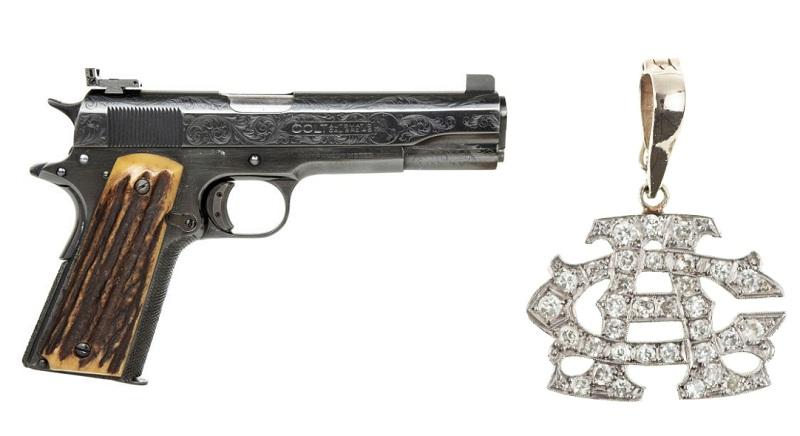 3 მილიონ დოლარად გაიყიდა ალ კაპონეს იარაღი და ბრილიანტები